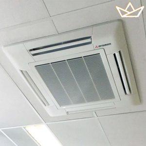 Mitsubishi FDT VF + SRC ZMX-S Cassette unit - Climate King
